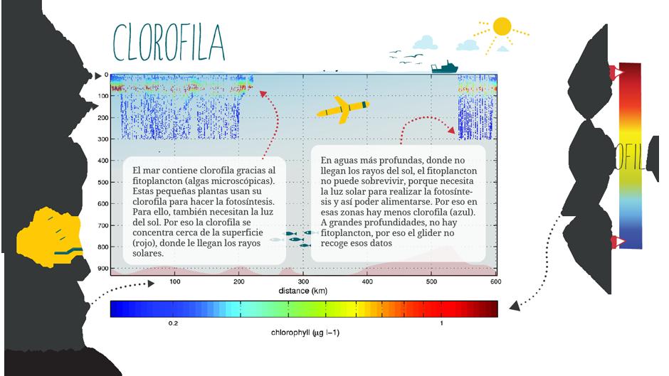 Gráfico Glider Clorofila